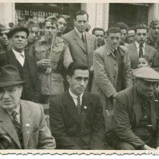 Postales: FIGUERAS-FIESTA SAN ANTONIO-AUTORIDADES Y SOLDADOS-FOTOGRÁFICA AÑO 1948. Lote 216367640