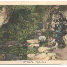 Postales: POSTAL - CENTELLAS - FONT GROSSA - CIRCULADA.. Lote 216935591