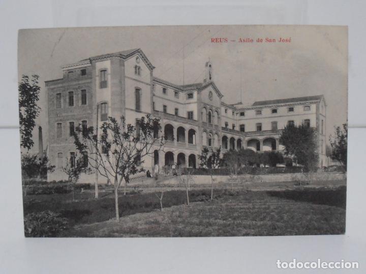 ANTIGUA POSTAL, REUS, ASILO DE SAN JOSE, UNION POSTAL UNIVERSAL (Postales - España - Cataluña Antigua (hasta 1939))