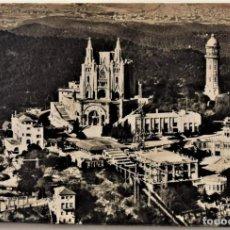 Postales: BARCELONA - TIBIDABO - VISITA GENERAL DE LA CUMBRE - TALLERES A. ZERKOWITZ (BARCELONA). Lote 217331998