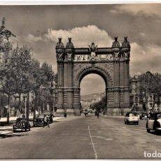 Postales: BARCELONA - ARCO DEL TRIUNFO - RO - FOTO. Lote 217332478