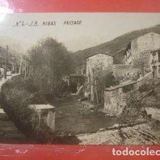 Cartes Postales: RIBASJ JB PAISATGE- PORTAL DEL COL·LECCIONISTA. Lote 217770740
