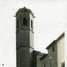 Postales: BELLPUIG - TORRE DE L´ESGLESIA (Nº 3 ORIOL). Lote 217962173