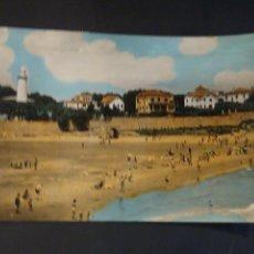 Postales: POSTAL DE VILLANUEVA Y GELTRÚ -FARO SAN SEBASTIAN Y RESIDENCIA HERMANOS NOYA CIRCULADA.. Lote 218134686
