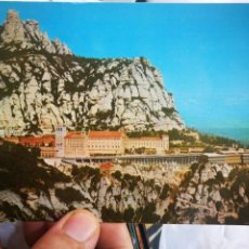 Postales: POSTAL MONSERRAT VISTA GENERAL DESDE SANT MIGUEL N 14 FOTOCOLOR VERT MANRESA S/C. Lote 218217388