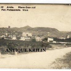 Postales: ARTÉS Nº 12 VISTA GENERAL .- FOTO PALMAROLA , VICH .- POSTAL FOTOGRAFICA 1910. Lote 218443808