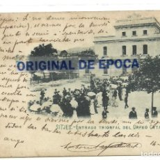 Postales: (PS-63721)POSTAL DE SITJES-SITGES-ENTRADA TRIONFAL DEL ORFEO CATALA. Lote 218497127