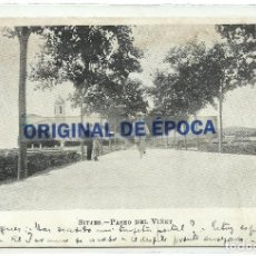 Postales: (PS-63722)POSTAL DE SITJES-SITGES-PASEO DEL VIÑET. Lote 218497190