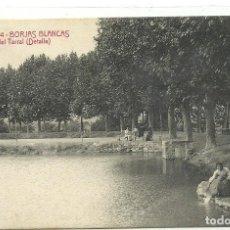 Postales: (PS-63729)POSTAL DE BORJAS BLANCAS-PASEO DEL TARRALL(DETALLE).A.T.V.2344. Lote 218497818