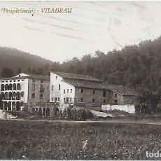 Postales: POSTAL DE MASVIDAL (PROPIETARIO) VILADRAU .. Lote 218498541