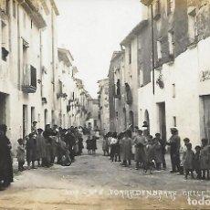 Postales: POSTAL FOTOGRÁFICA Nº 5 TORREDEMBARRA - CALLE FREXINAL .. Lote 218509260
