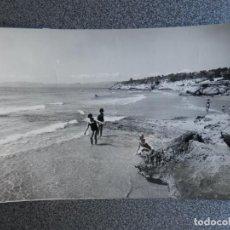 Postales: SALOU TARRAGONA LOTE 4 POSTALES FOTOGRÁFICAS AÑO 1960. Lote 218541225