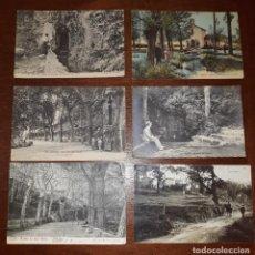 Postales: LOTE DE 6 POSTALES ANTIGUAS DE OLOT (ENTRE 1906 Y 1914) ESCRITAS Y VARIAS MATASELLADAS. Lote 218567881