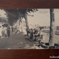 Postales: POSTAL ANTIGUA DE ARENYS DE MAR. PASEO XIFRÉ. 1918. Lote 218569370
