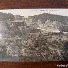 Postales: POSTAL DEL DESAPARECIDO CASINO DE LA RABASSADA (BARCELONA). VISTA GENERAL. AÑOS 10 SIGLO XX.. Lote 218570065