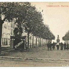 Postales: TARRAGONA. RAMBLA DE CASTELAR. LOTE 0070-1. Lote 218815045