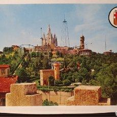 Cartes Postales: 16. BARCELONA/ PARQUE DE ATRACCIONES TIBIDADO/ SIN CIRCULAR/ (REF.D.106). Lote 218900418