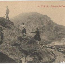 Postales: POSTAL - NURIA - PUJANT A LA CREU D' EN RIBA, Nº 6 SIN CIRCULAR.. Lote 219028003