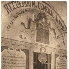Postales: POSTAL - FIGUERAS - CASTILLO. PRISIÓN DONDE MURIÓ EL GENERAL ALVAREZ.. Lote 219028632