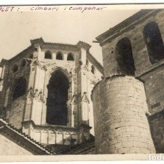 Postales: POSTAL FOTOGRAFICA - POBLET: CIMBORI I CAMPANAR.. Lote 219029181