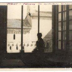 Postales: POSTAL FOTOGRAFICA - POBLET: FATXADA DEL DORMITORI DE NOVICIS.. Lote 219029233