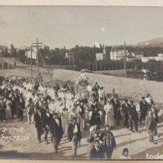 Postales: MONCADA. 8 - 9 - 1908. SORTIDA DE LA PROFESSÓ. POSTAL FOTOGRÁFICA. MONTCADA. PROCESIÓN.. Lote 219177245