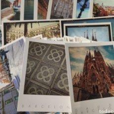 Postales: LOTE DE MAS DE 75 POSTALES DE BARCELONA.. Lote 219900007