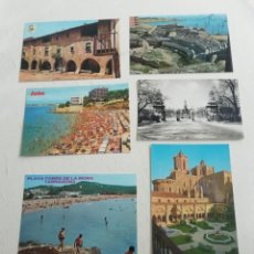 Postales: POSTALES DE CATALUÑA 101 FOTOS EN TOTAL AÑOS 70. Lote 220142790