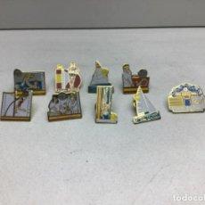 Postales: LOTE DE PINS OLIMPIADAS BARCELONA - DEPORTES 92. Lote 220662756