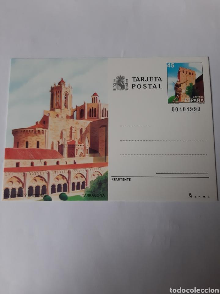 TARRAGONA CATEDRAL ENTEROS POSTALES EDIFIL 146 AÑO 1998 FILATELIA COLISEVM (Postales - España - Cataluña Moderna (desde 1940))