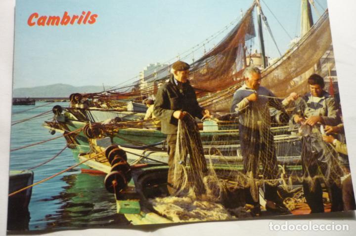 POSTAL CAMBRILS PUERTO PESCADORES (Postales - España - Cataluña Moderna (desde 1940))