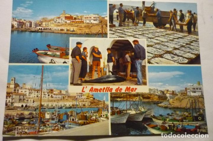 POSTAL AMETLLA DE MAR -DIVERSOS ASPECTOS (Postales - España - Cataluña Moderna (desde 1940))