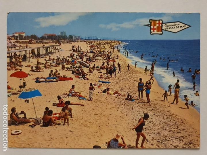 VILASSAR DE MAR - PLAYA - LMX - MAR2 (Postales - España - Cataluña Moderna (desde 1940))