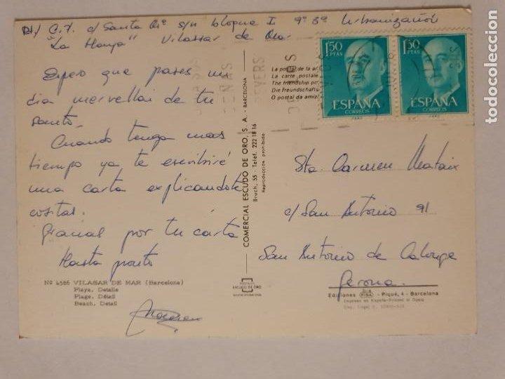 Postales: VILASSAR DE MAR - CLUB NÀUTIC / NÁUTICO - VELA DEPORTIVA - LMX - MAR2 - Foto 2 - 221515568