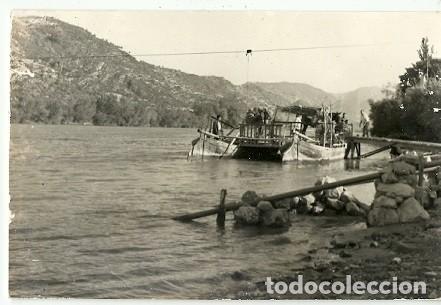 ANTIGUA POSTAL VISTA DE BENIFALLET TARRAGONA ALFONSO LLUIS ESCRITA 1971 (Postales - España - Cataluña Moderna (desde 1940))