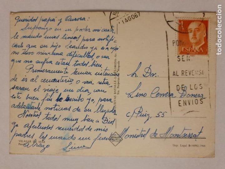 Postales: VILASSAR DE MAR - PASSEIG / PASEO - LMX - MAR2 - Foto 2 - 221515682