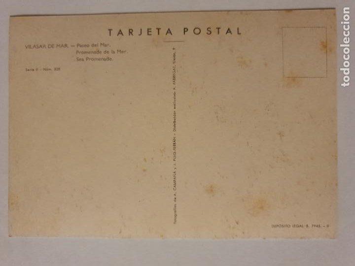 Postales: VILASSAR DE MAR - PASSEIG / PASEO - LMX - MAR2 - Foto 2 - 221515703
