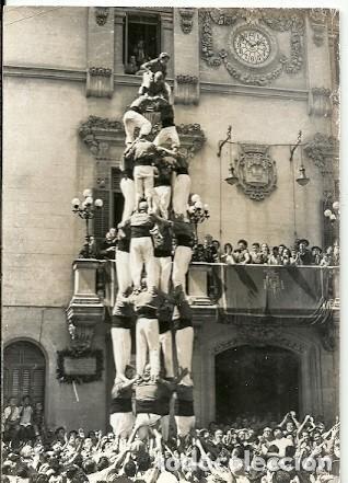 ANTIGUA POSTAL VILAFRANCA DEL PANADES QUATRE DE VUIT FOTO A GRAU 1965 (Postales - España - Cataluña Moderna (desde 1940))