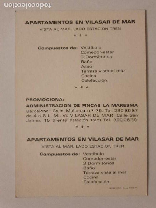 Postales: VILASSAR DE MAR - APARTAMENTOS - LMX - MAR2 - Foto 2 - 221515932