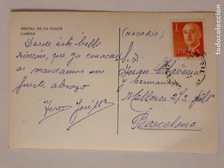 Postales: CABRILS - HOSTAL DE LA PLAÇA - LMX - MAR2 - Foto 2 - 221516355