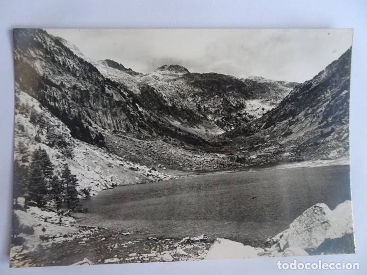 ANTIGUA POSTAL FOTOGRÁFICA , PIRINEOS CENTRALES, LAGO DE CAVALLERS , VER FOTOS (Postales - España - Cataluña Antigua (hasta 1939))