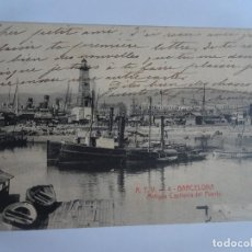 Postales: ANTIGUA POSTAL A.T.V. Nº 4 , BARCELONA , ANTIGUA CAPITANÍA DEL PUERTO, VER FOTOS. Lote 221599432