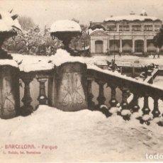 Postales: BARCELONA 226 PARQUE L. ROISIB FOTG, SIN CIRCULAR. Lote 221600095