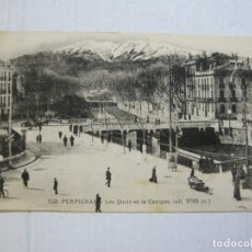 Postales: PERPINYA-PUENTE-POSTAL ANTIGUA-VER FOTOS-(74.841). Lote 221612603