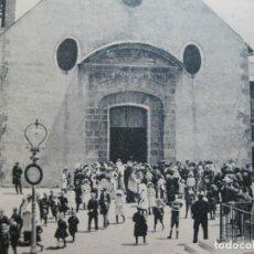 Postales: MONTLLUIS-MOUNT LOUIS-PLAZA DE LA IGLESIA-POSTAL ANTIGUA-VER FOTOS-(74.844). Lote 221612897