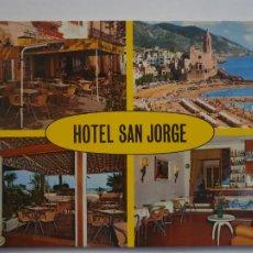 Postales: SITGES - HOTEL SAN JORGE - LMX - PBAR3. Lote 221700946