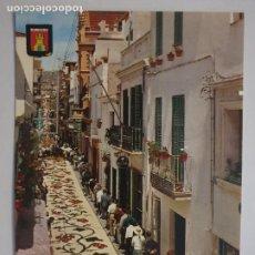 Postales: SITGES - CORPUS - CATIFES DE FLORS / ALFOMBRAS DE FLORES - LMX - PBAR3. Lote 221701885