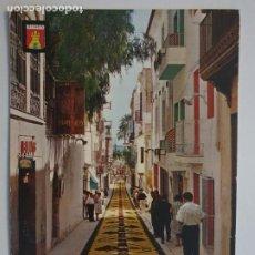 Postales: SITGES - CORPUS - CATIFES DE FLORS / ALFOMBRAS DE FLORES - LMX - PBAR3. Lote 221701951