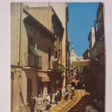 Postales: SITGES - CORPUS - CATIFES DE FLORS / ALFOMBRAS DE FLORES - LMX - PBAR3. Lote 221702727
