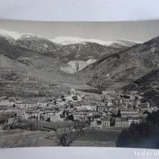Postales: ANTIGUA POSTAL FOTOGRÁFICA, LA POBLA DE LILLET, VISTA GENERAL ,VER FOTOS. Lote 221710835